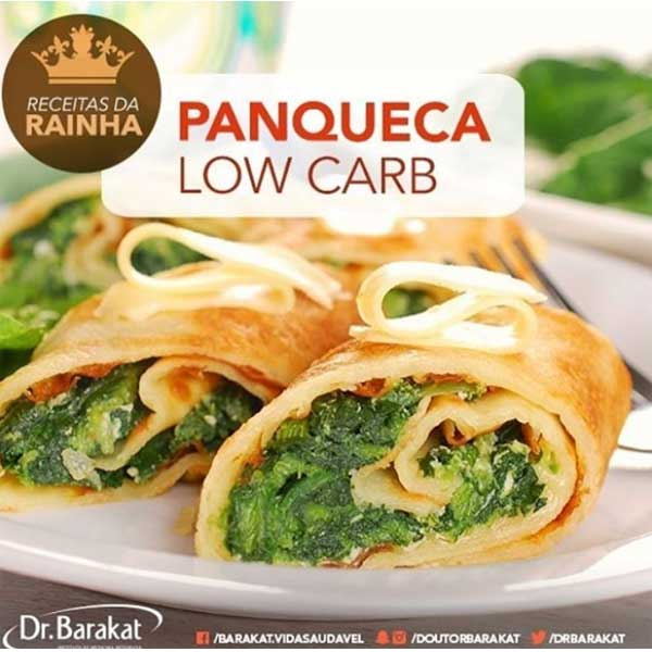 Massa de panqueca low carb