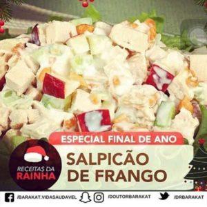 Salpicão de Frango com batatas-palha